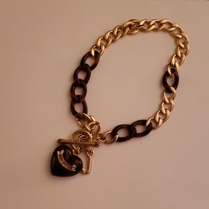 Brown/Gold Juicy Couture Necklace
